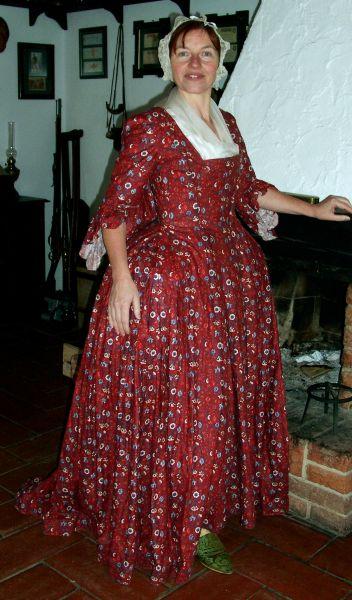 long dress tight 18th