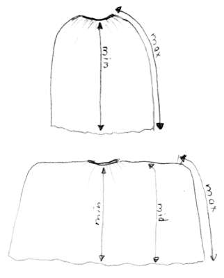 How to Make an 18th Century Skirt